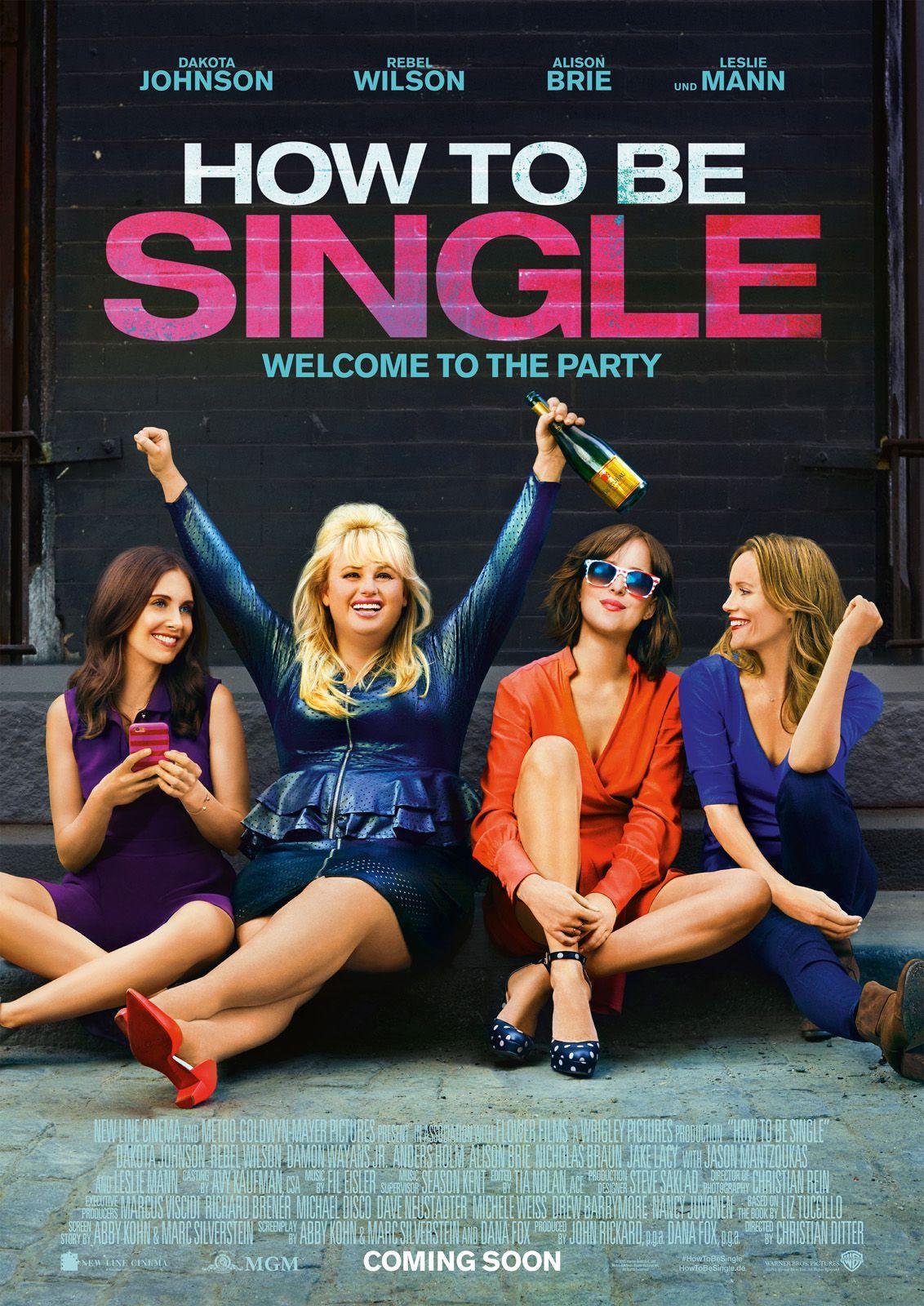 How to be single | 코미디 영화, 영화, 영화 포스터
