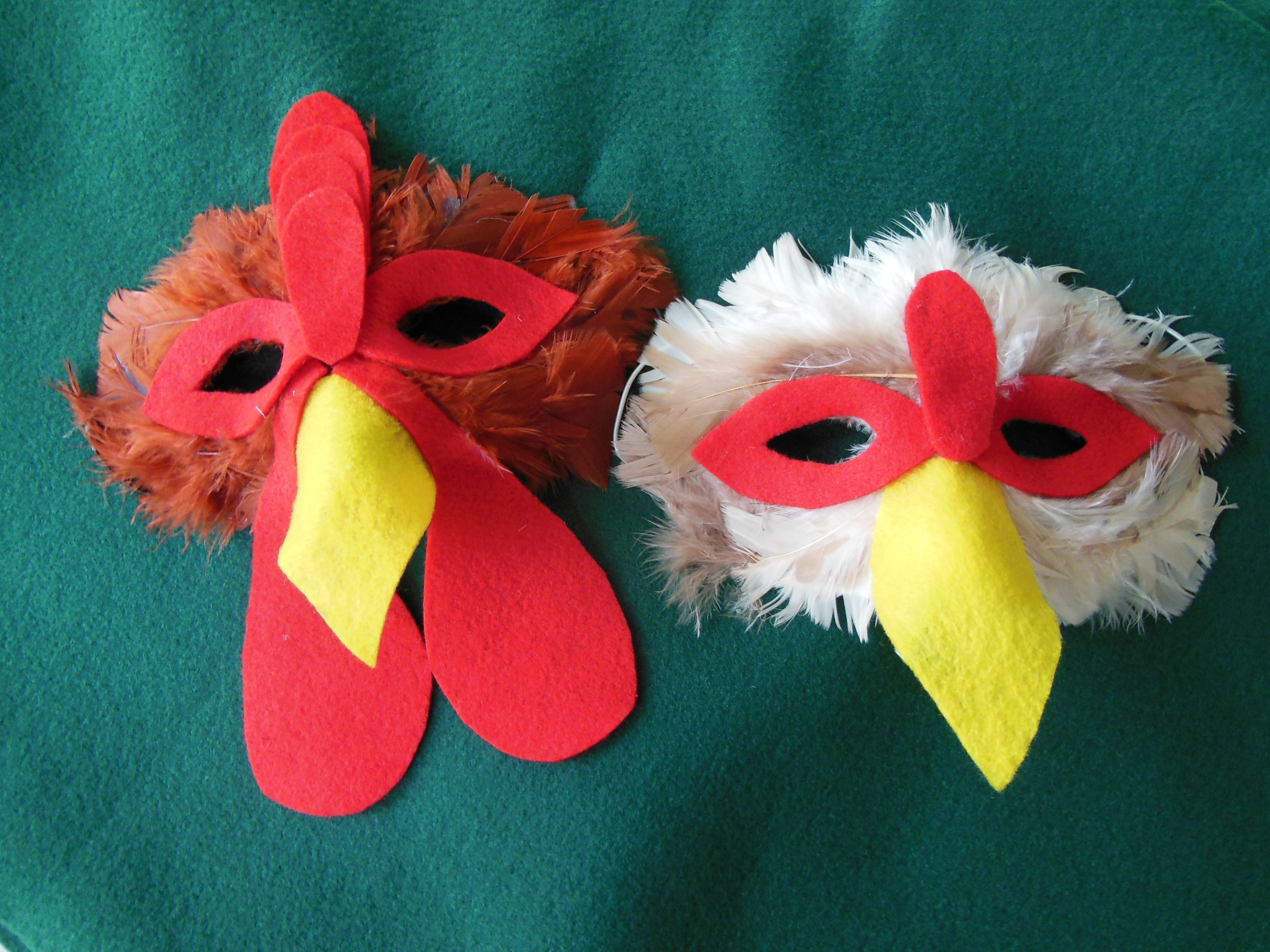 diy chicken mask and costume - Google Search | Halloween ...