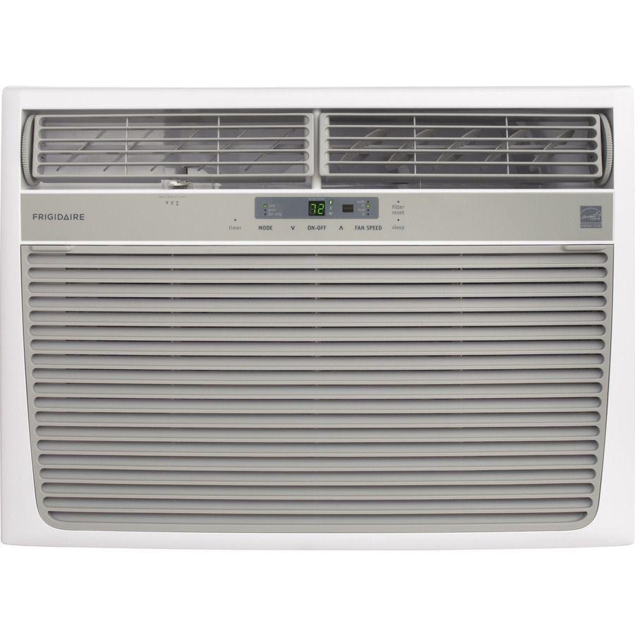 Frigidaire 1050 Sq Ft Window Air Conditioner 230 Volt 18000 Btu Energy Star Lowes Com Window Air Conditioner Air Conditioner Air Conditioner With Heater