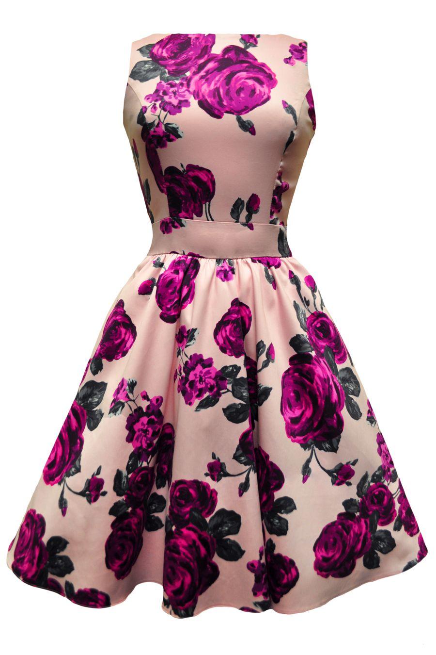 Pink Rose Dresses