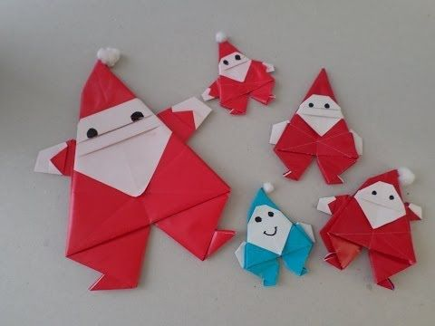 origami navidad facil