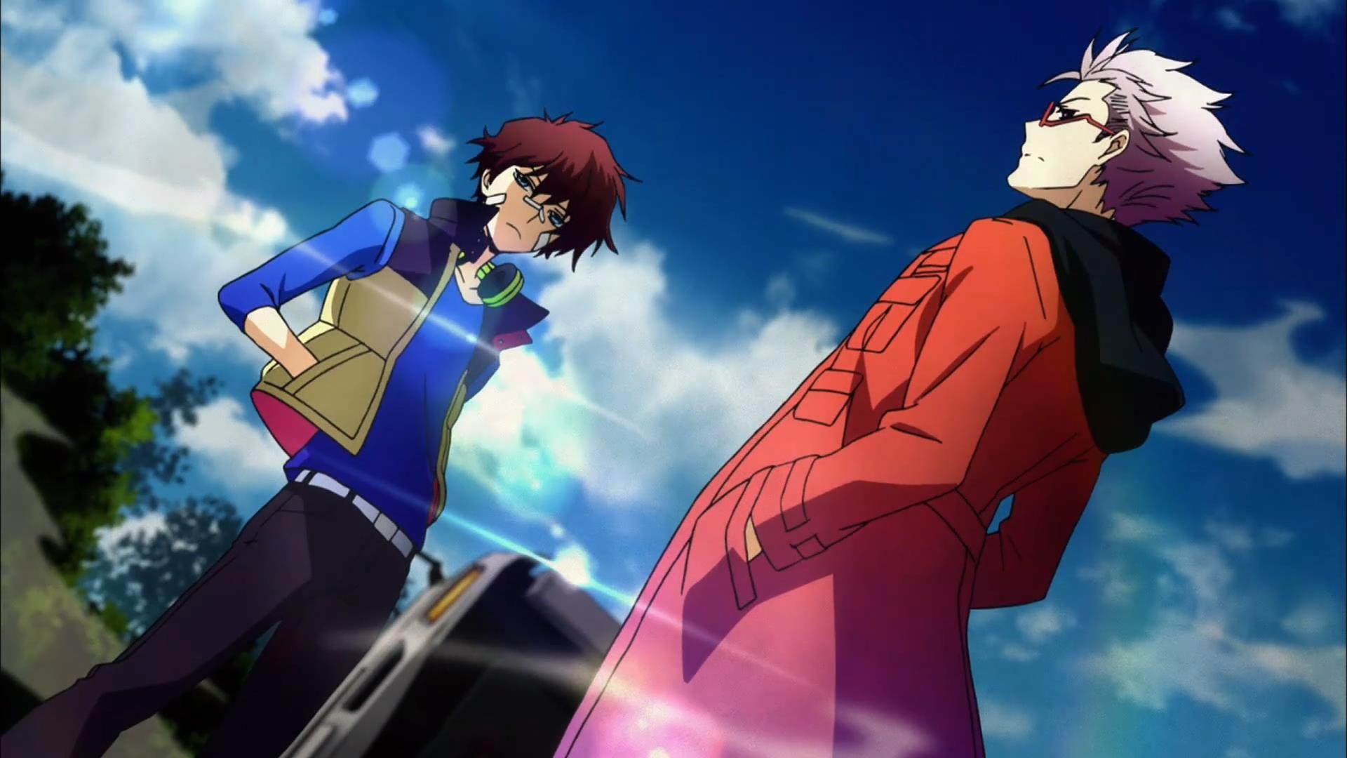 Murasaki And Nice Hamatora Anime Anime Canvas
