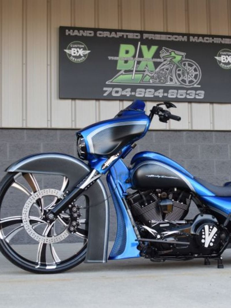Harley Bagger Street Glide Custom By The Bike Exchange Harley