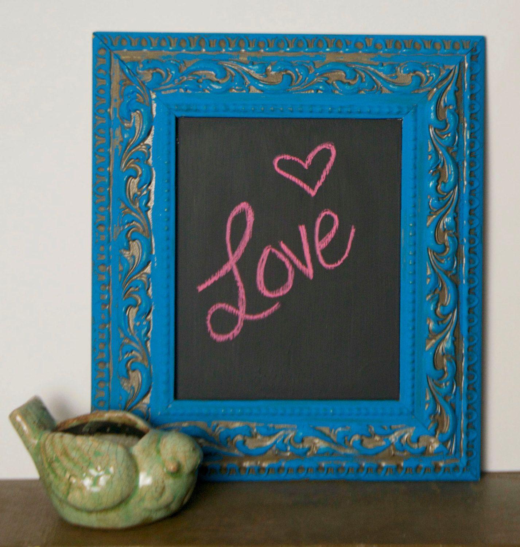 Chalkboard Frame. $35.00, via Etsy.