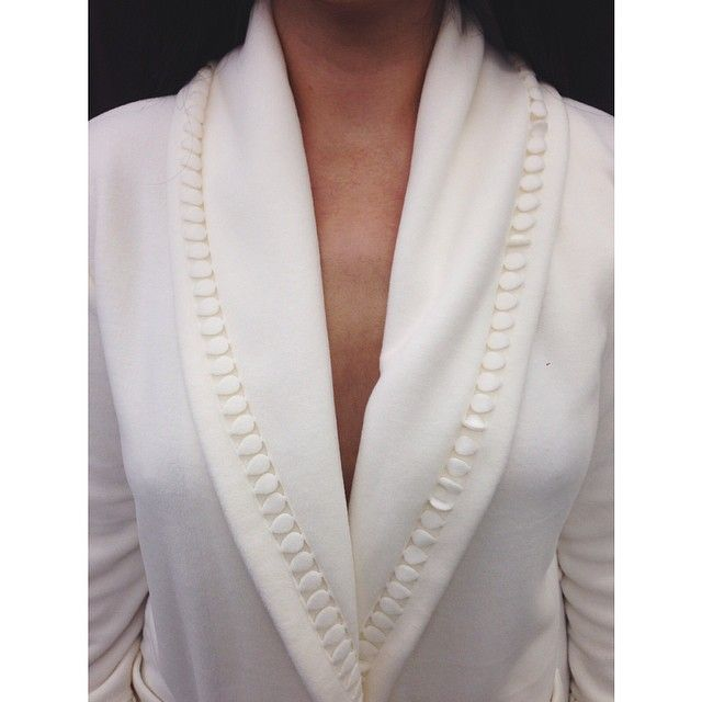 Cold weather like this calls for a cozy robe. The Geena Robe for Pluto will warm you up.