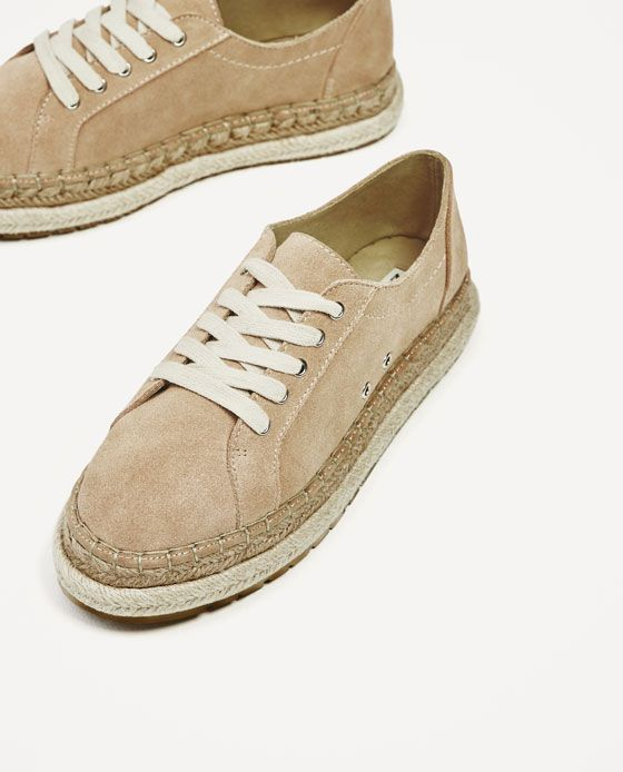 Imagen 6 de BLUCHER SERRAJE SUELA COMBINADA de / Zara Zapatos / de Zapatos 491d4b