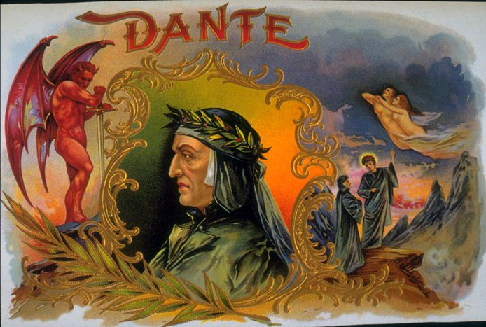 Dante | Tobacco retro advertising | Tabaco vintage poster #Tobacco #Smoke #Posters #Ads #Adverts #retro #Tabaco #Cigarrillos #Affiches #vintage