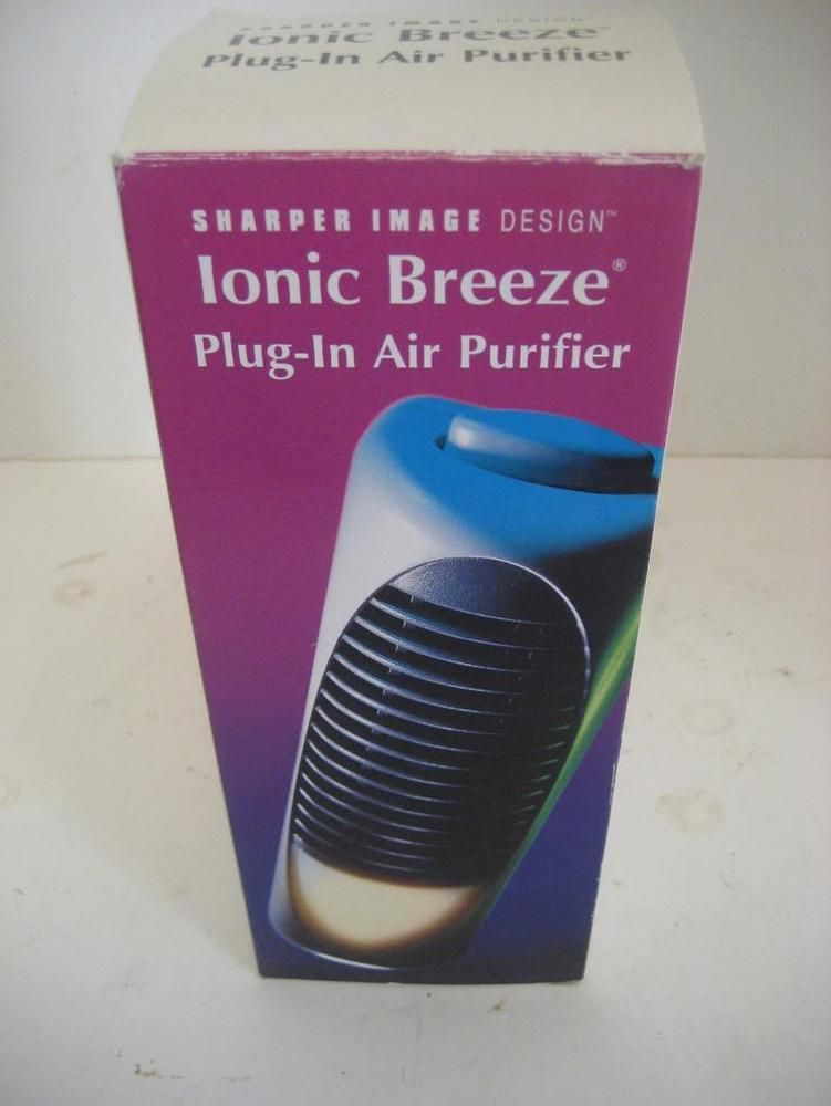 Sharper Image Design Ionic Breeze Plug In Air Purifier Cleaner Ozone