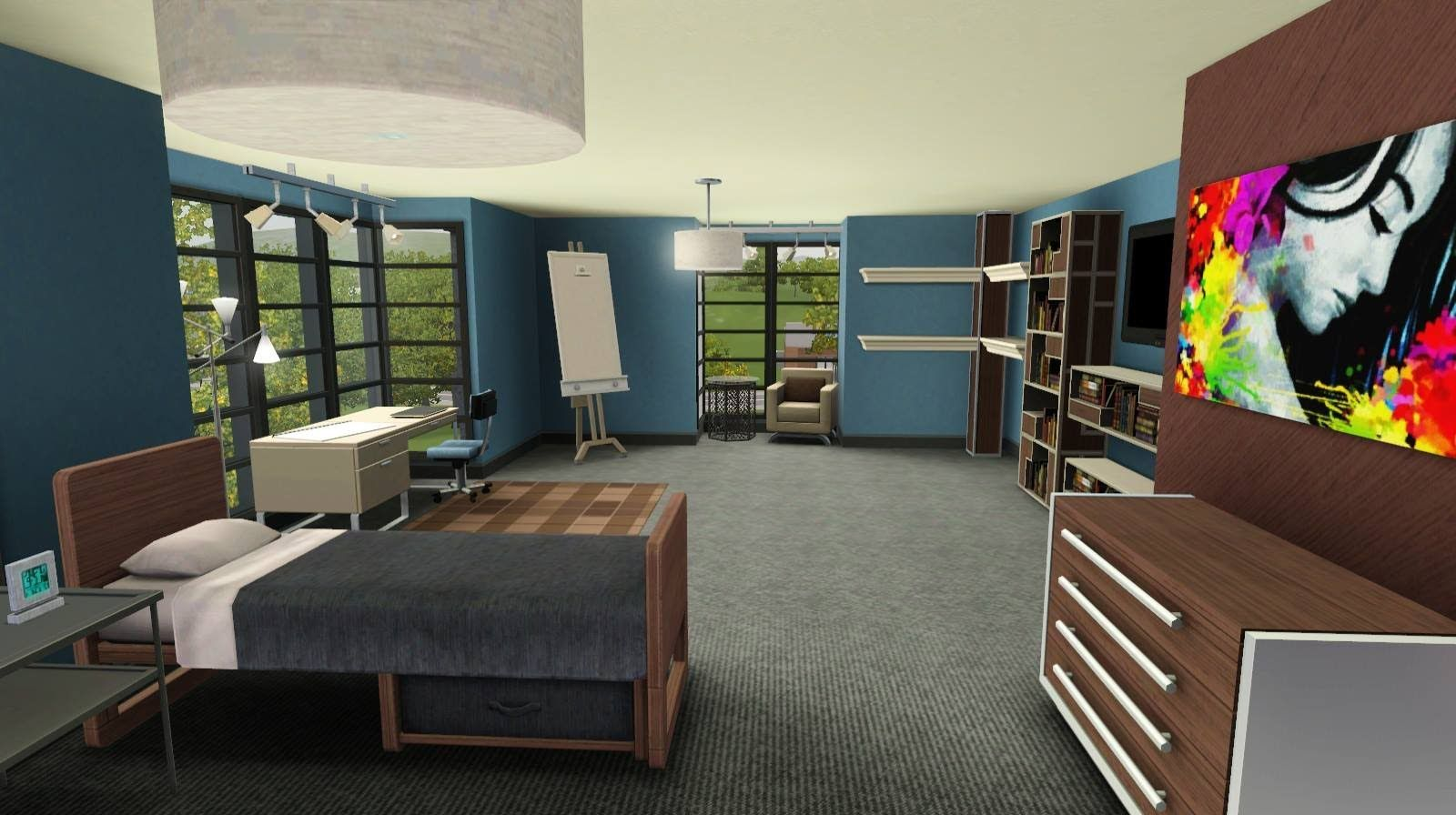 Decorating Ideas > Sims 3  Building Wright Hall Dormitory  Sims 3 CC  ~ 164505_Sims 3 Dorm Room Ideas