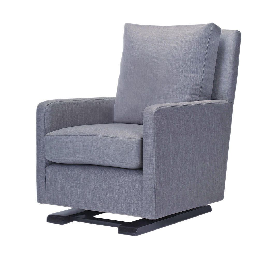 Maxwell Upholstered Glider Slate Shermag Babies Quot R