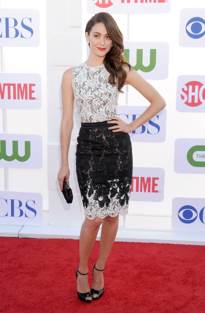 Emmy Rossum In Zuhair Murad Pretty Dresses Beautiful