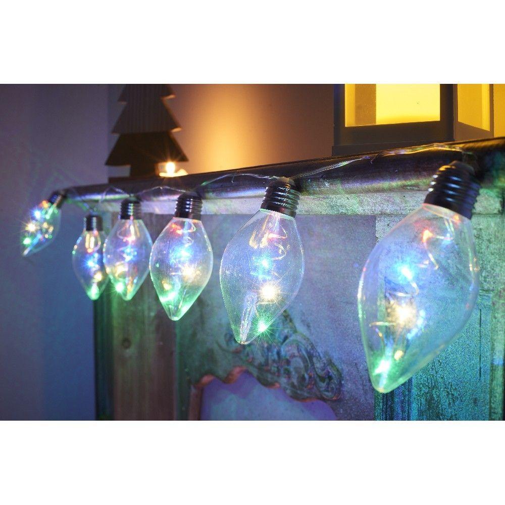 Guirlande Electrique 6 Ampoules A Led Multicolores L 1 M Gifi 387321x Guirlande Electrique Decoration Lumineuse Guirlande