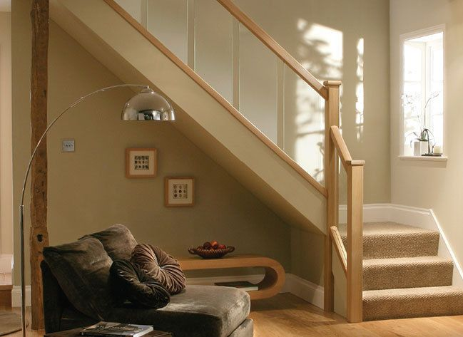 Httpiebayimgimagesi321145473460 0 1s l1000g home reflections glass and oak stair landing balustrade stair kit oak handrails in home furniture diy diy materials stairs solutioingenieria Image collections