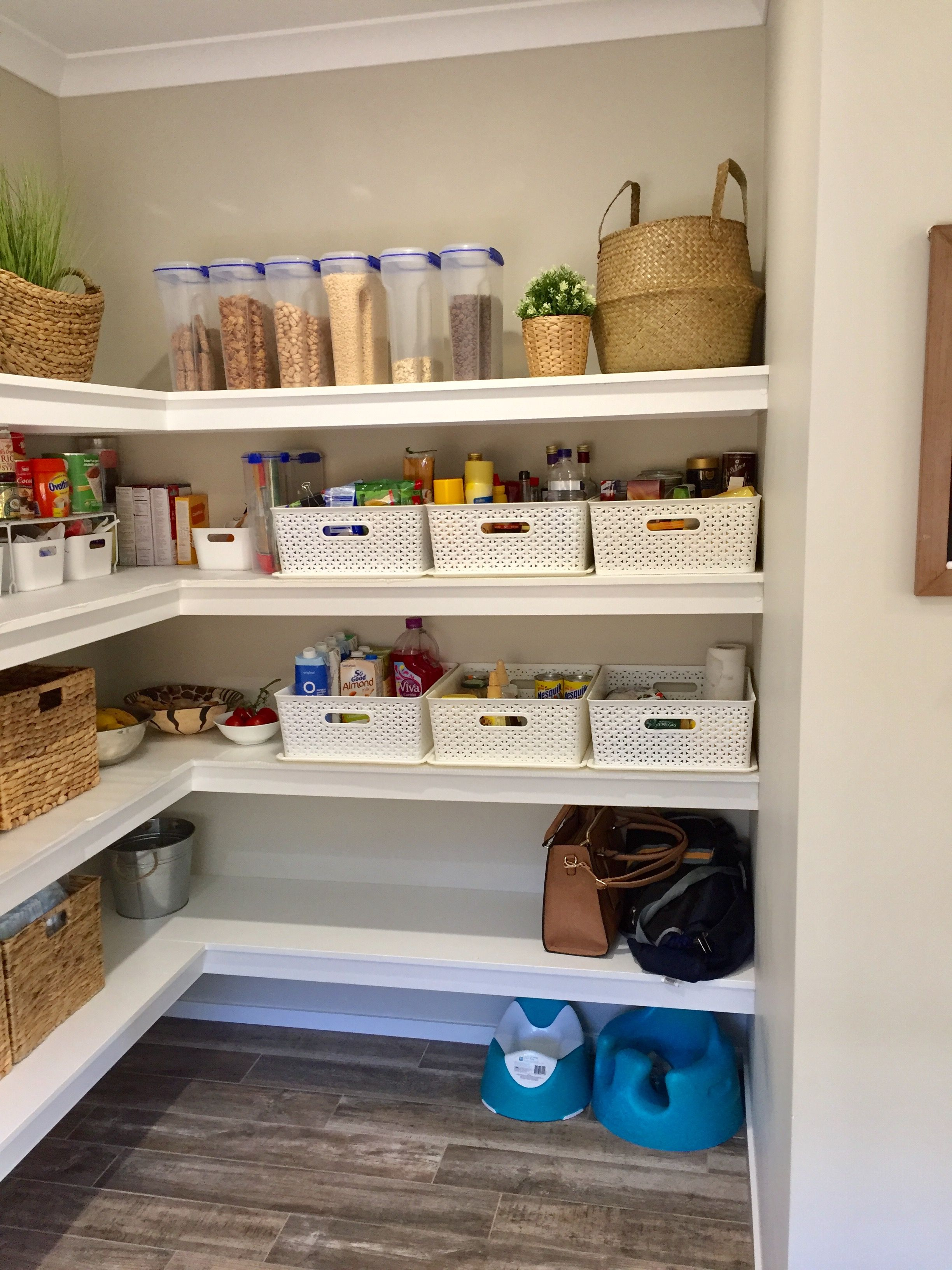 Pantry Pantry Organisation Butlers Pantry Easy To Achieve Organisation Using Sistema Container Kitchen Organization Pantry Pantry Layout Pantry Organisation