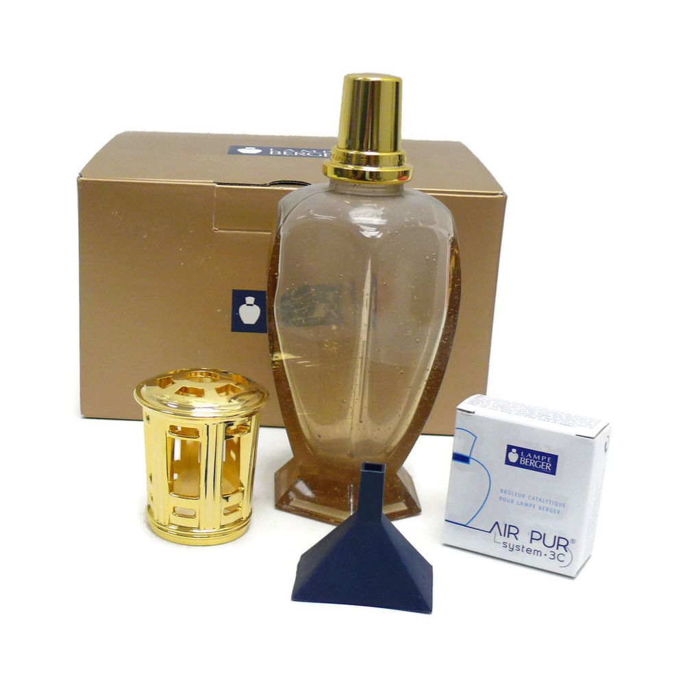 Retired Lampe Berger Fragrance Lamp Champagne Athena #3966   NEW # LampeBerger