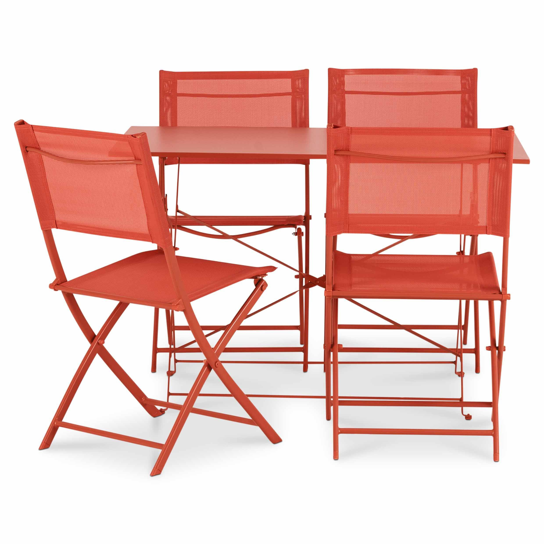Saba Metal 4 Seater Dining Set Departments Diy At B Q 400 x 300