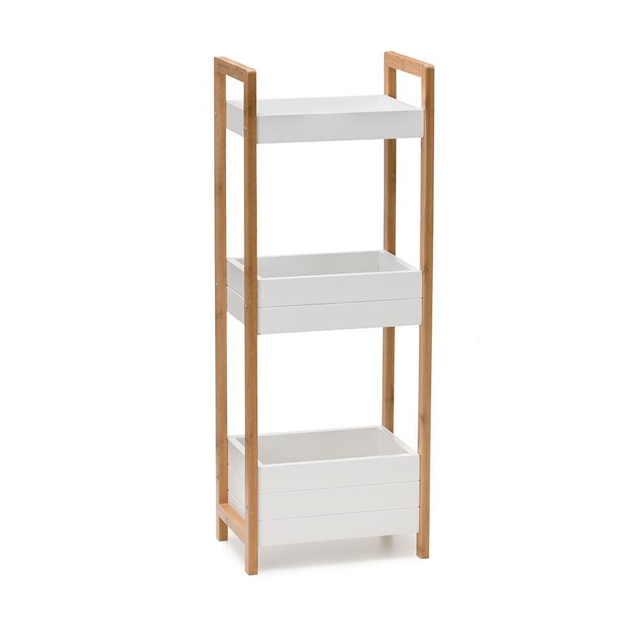Bathroom Accessories Kmart bamboo 3-tier bathroom caddy | kmart | haus | pinterest | bathroom