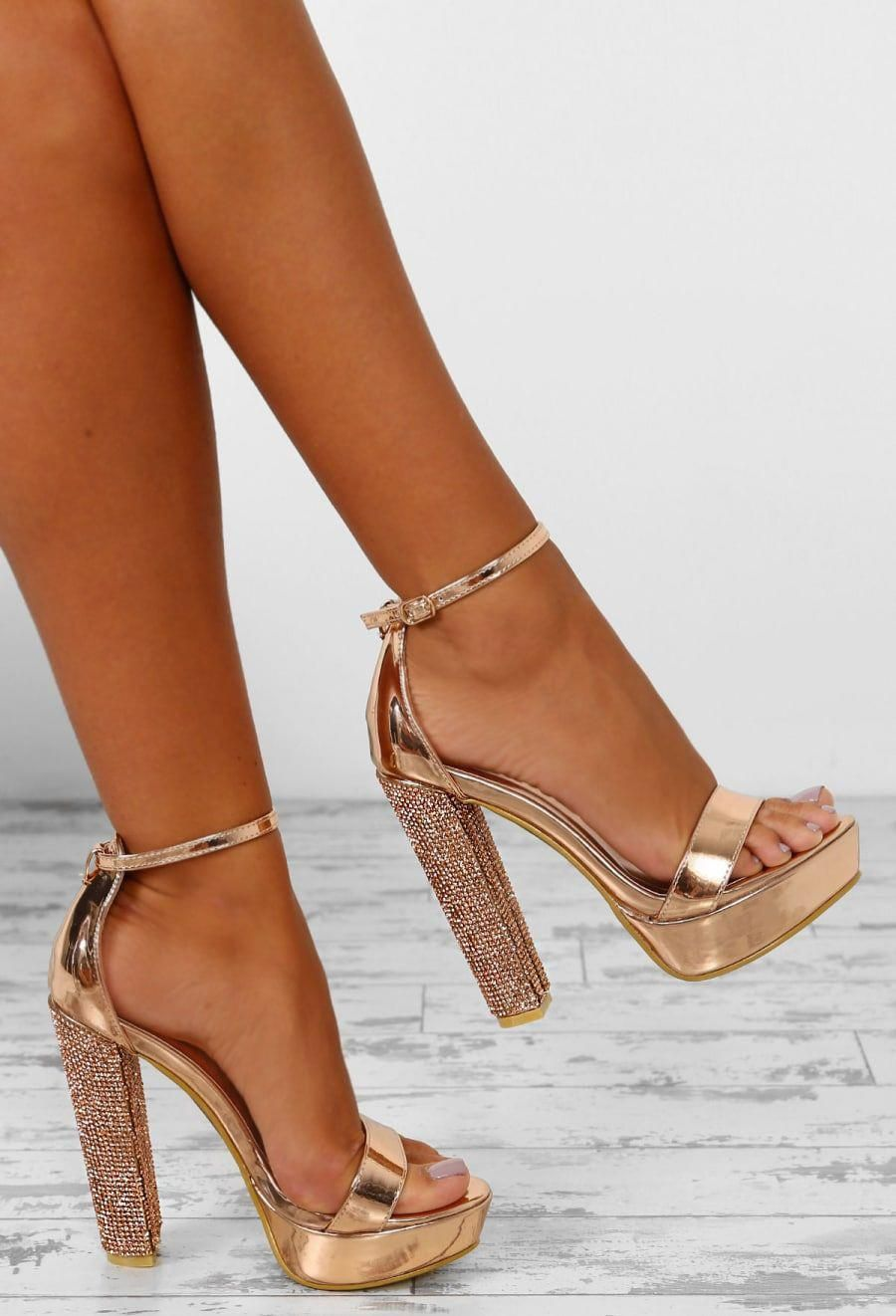 Can You Keep Up Rose Gold Patent
