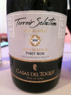 Casas del Toqui Terroir Selection Gran Reserva Pinot Noir 2012 - Casablanca…