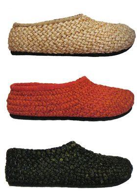 Wabi de Camper ~ Resseny | Fibras Vegetales | Crochet shoes