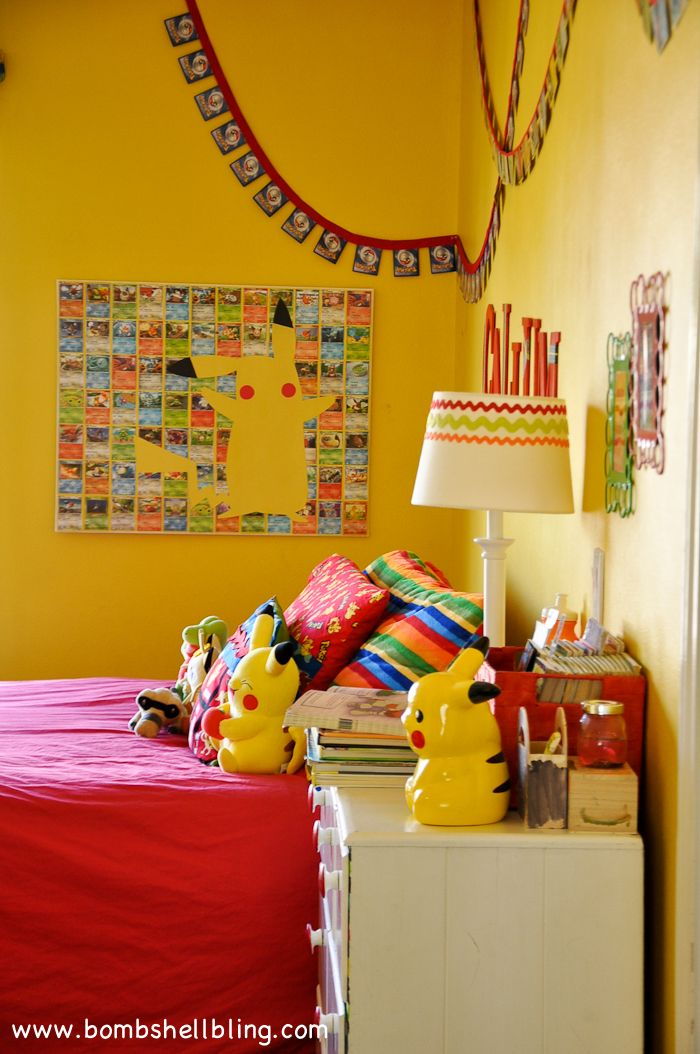 From Junk Room To Beautiful Bedroom The Big Reveal: This Pokemon Bedroom Is My Son's DREAM!! #pokemon