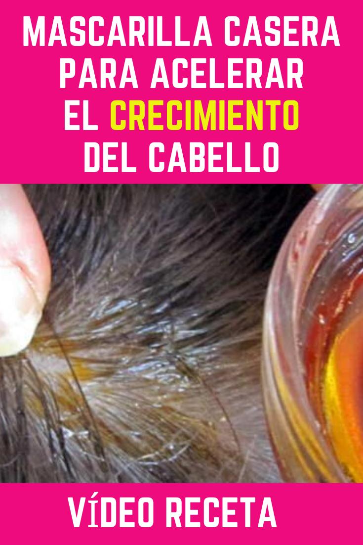 Mascarilla Casera Para Acelerar El Crecimiento Del Cabello Crecimiento Del Cabello Aceite De Coco Para El Pelo Vitaminas Para El Cabello