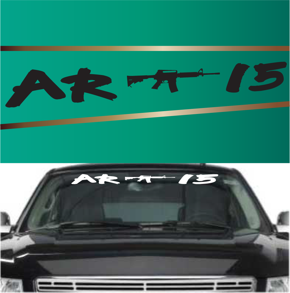 AR Windshield Banners Custom Decals For Cars Cars - Custom vinyl decals for car windshield