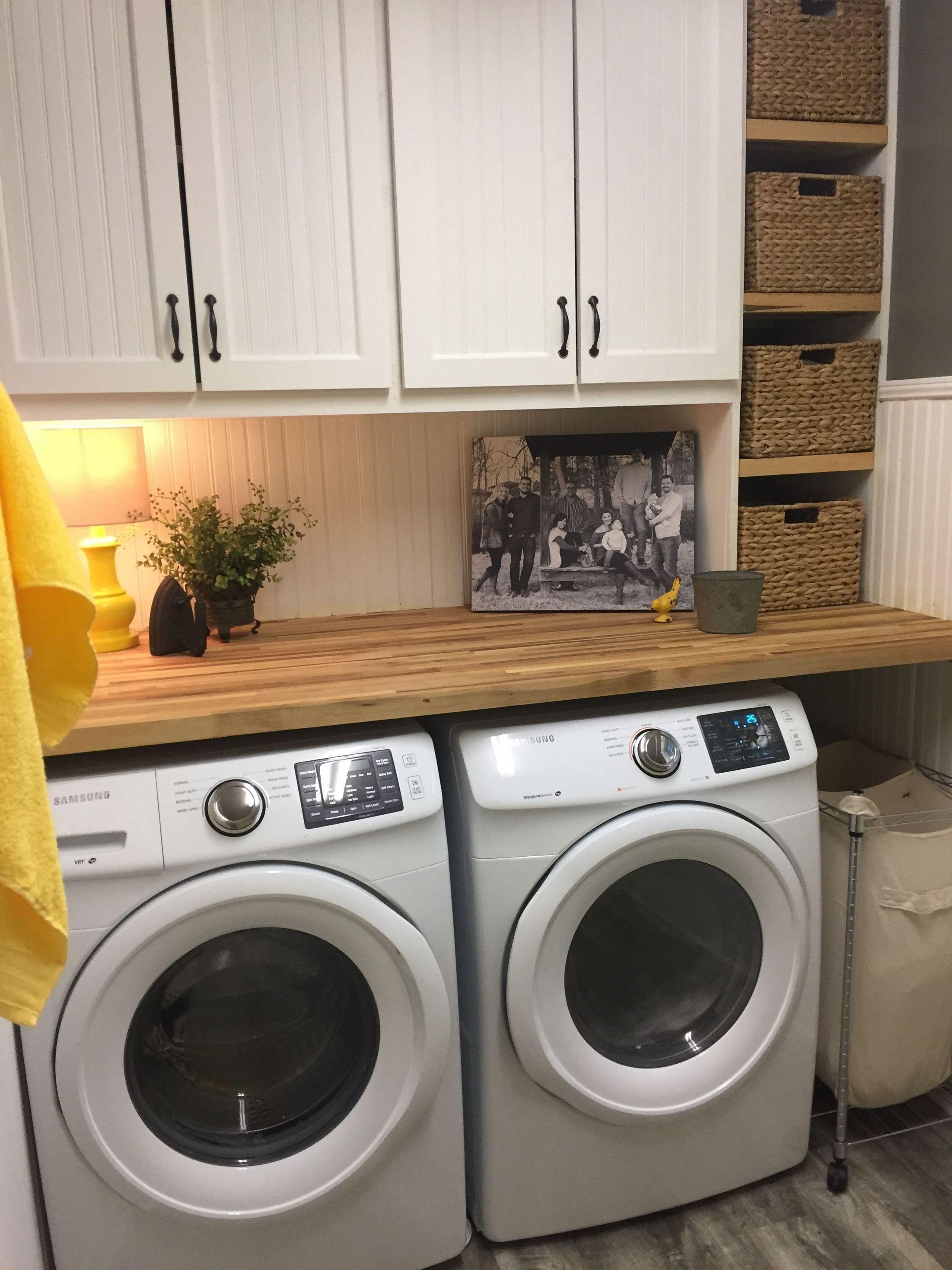 Photo of 32 Tiny Laundry Room Makeover-Ideen, die Sie ausprobieren können – homimu.com