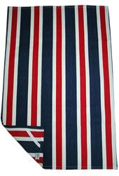 Striped Tea Towels Red White And Blue