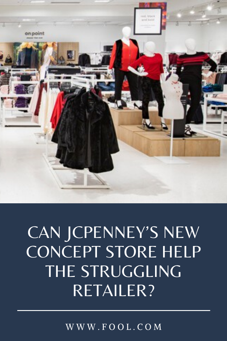 Can JCPenney's New Concept Store Help Reinvigorate the