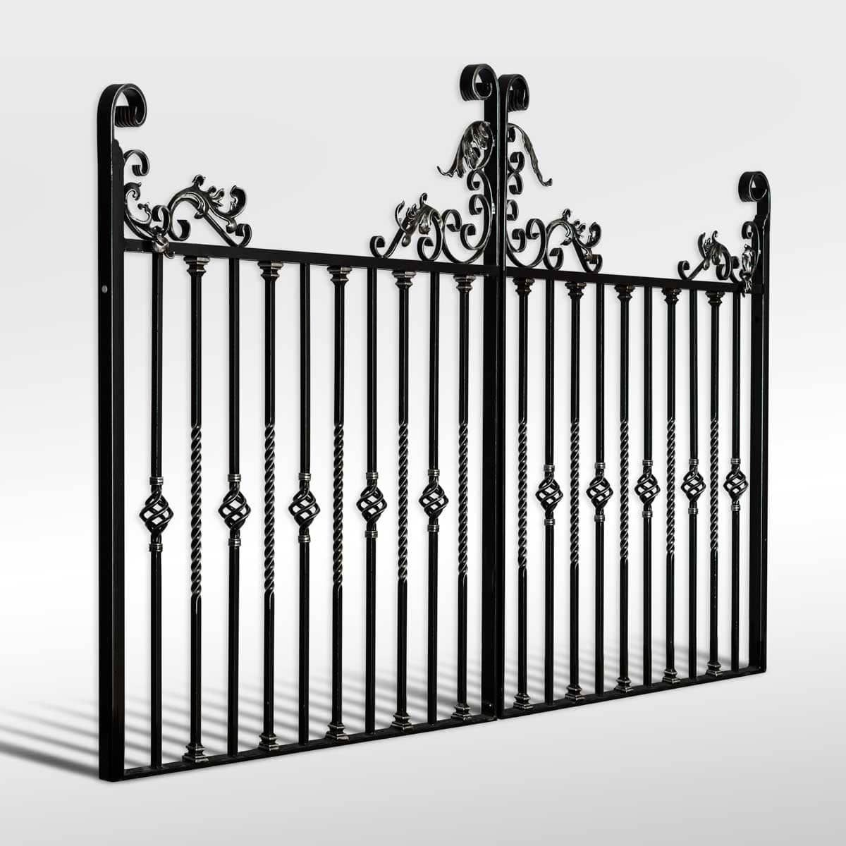The Gwydir Wrought Iron Driveway Gate Avec Images