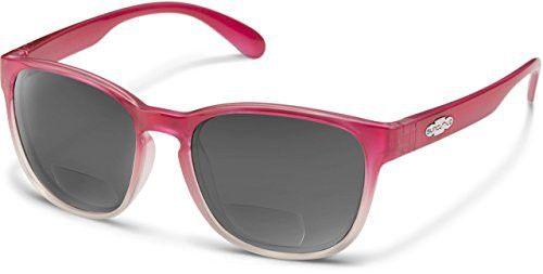f29efa4863528 Suncloud Loveseat Polarized Bi-Focal Reading Sunglasses in Pink Fade 2.50
