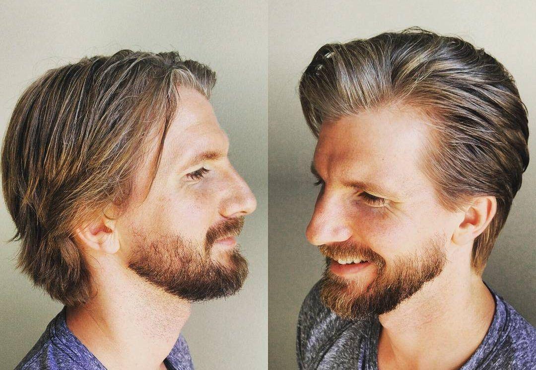 Mens haircut styles medium length pin by men hair styles on men medium hairstyles  pinterest  hair