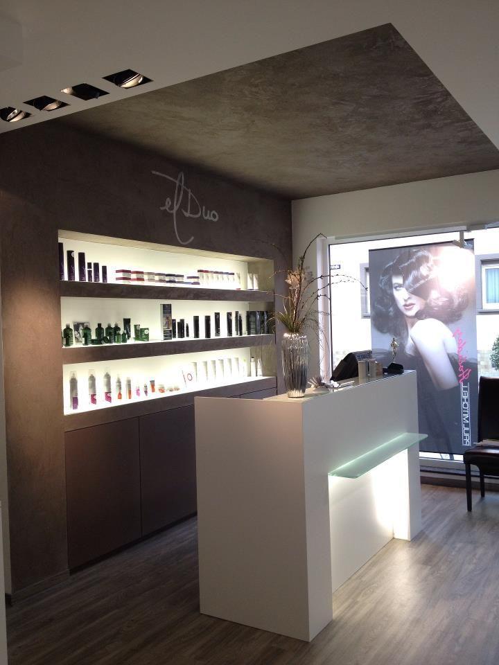statement reception area peluquerias pinterest salon friseursalon und einrichtung. Black Bedroom Furniture Sets. Home Design Ideas