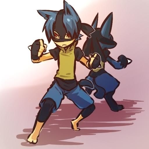 Lucario and Human Boy Lucario Form | Pokèmon | Pinterest | Pokémon ...