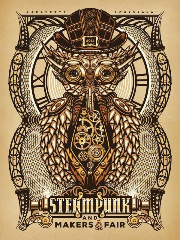 Steampunk and Makers Fair - by Lance LeBlanc