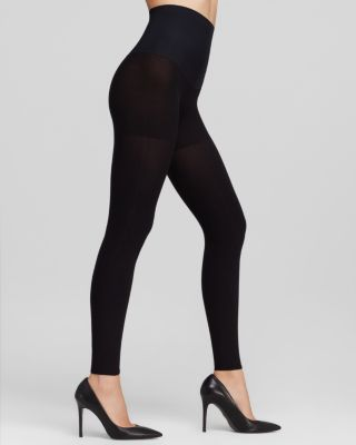 87187bc9ab3e8 Commando Hosiery Tights - Perfectly Opaque 100 Denier Matte Control Top  Footless #HC110L01 | Bloomingdale's