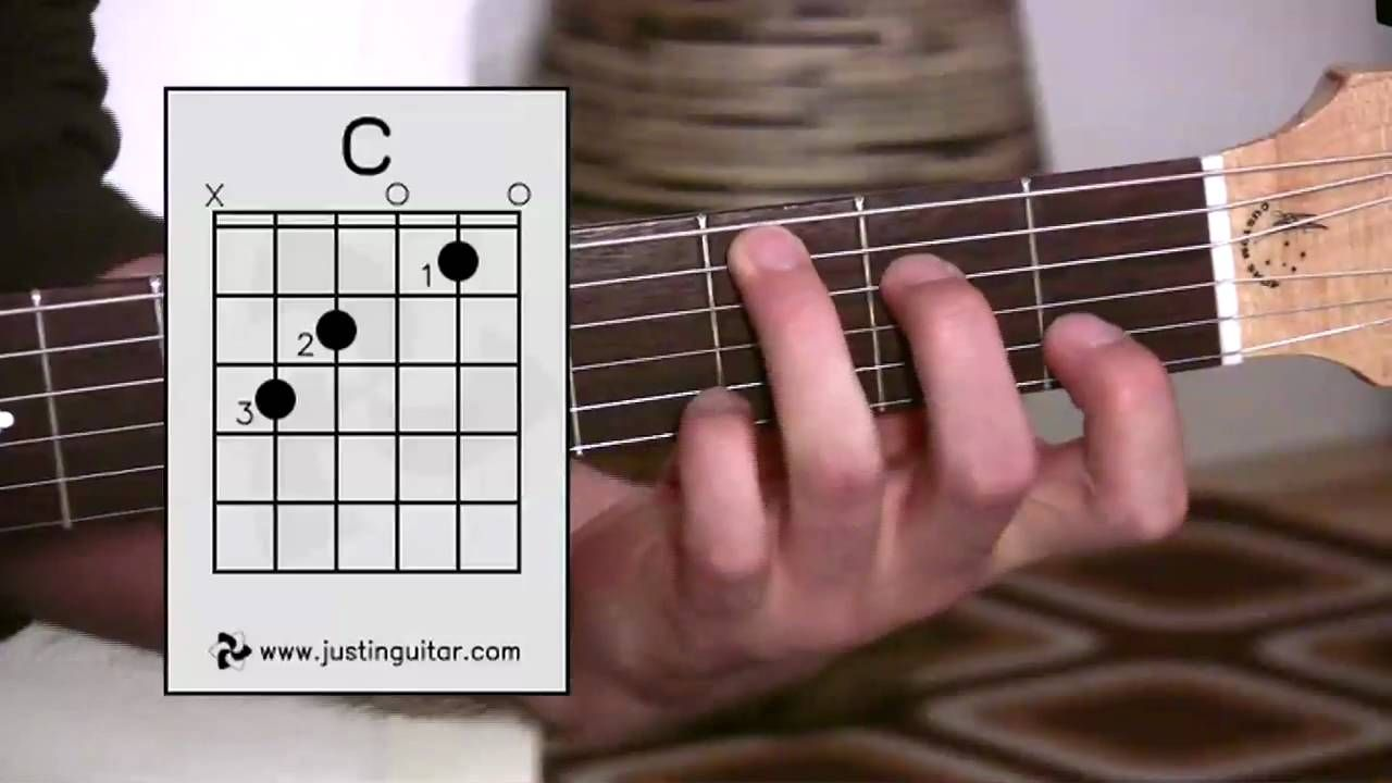 The C Chord Guitar Lesson Bc 132 Guitar For Beginners Stage 3 Kunci Nada Gitar Kunci Gitar Lagu Gitar