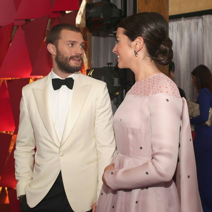 📸 Jamie Dornan Model Actor Fifty Shades Darker Freed Fifty Shades of Grey Oscars 2017 Millie Amelia warner