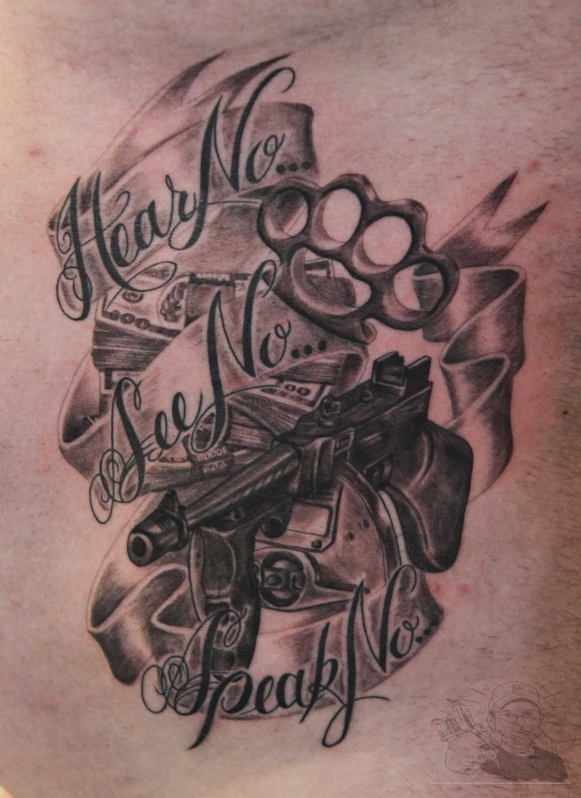 Gangsta Tattoos Gangsta Tattoos Gangster Tattoos Tattoo Lettering