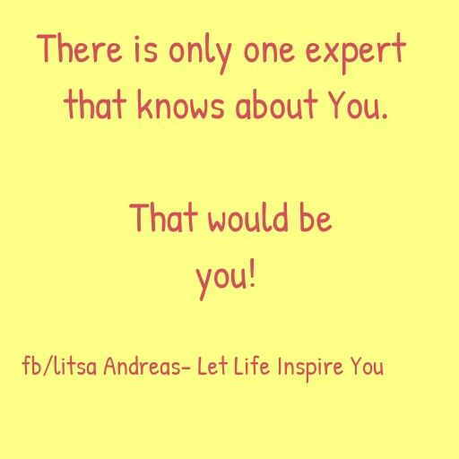 Your own expert