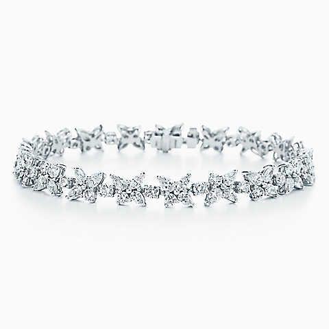 Tiffany Solitaire Diamond Bracelet