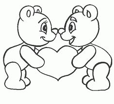 Dibujos De Osos De Peluche A Lapiz Dibujos Faciles De Amor Dibujos Faciles Corazon Para Colorear