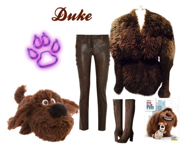 """""""Duke"""" by atenaide86 ❤ liked on Polyvore featuring Rick Owens, Isabel Marant and Nine West"""