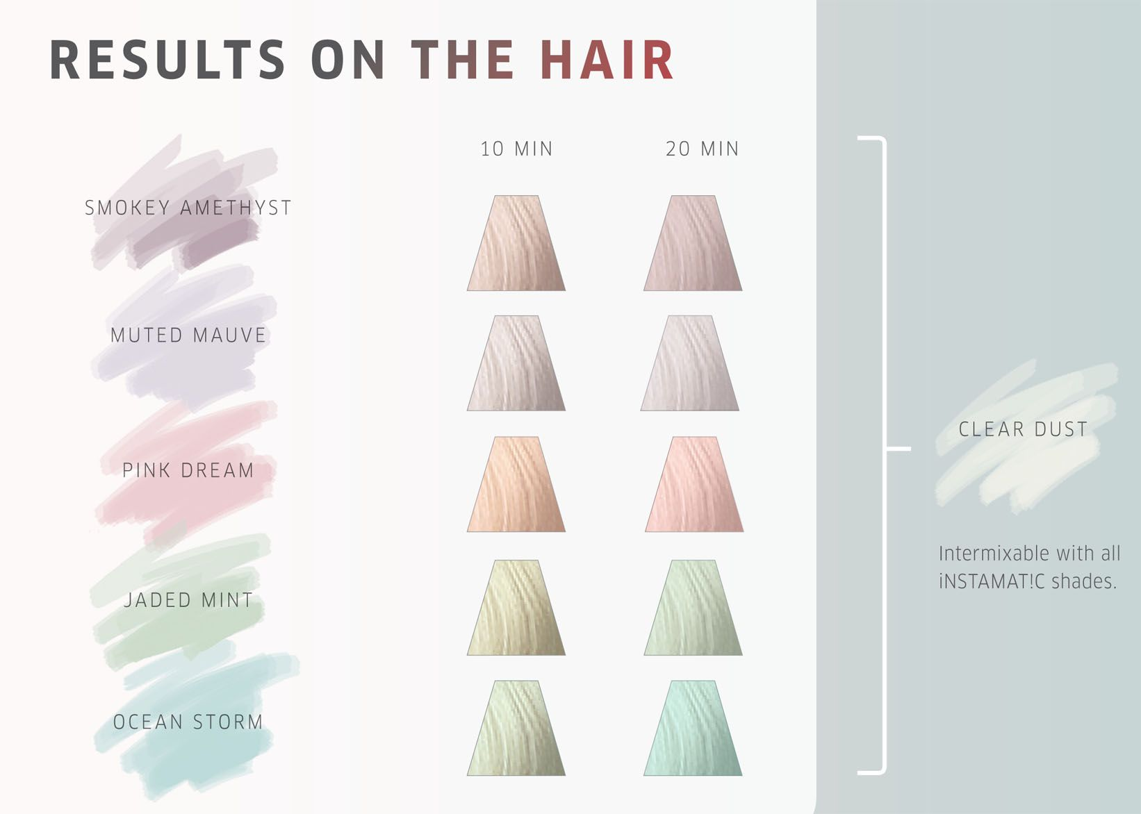 Wella professionals instamatic by color shades also hair rh pinterest
