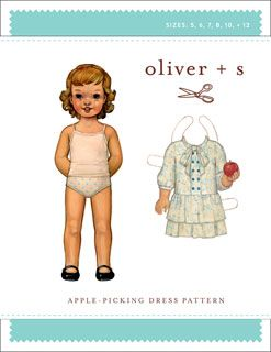 Oliver + S Apple-Picking Dress - Sizes 5 to 12