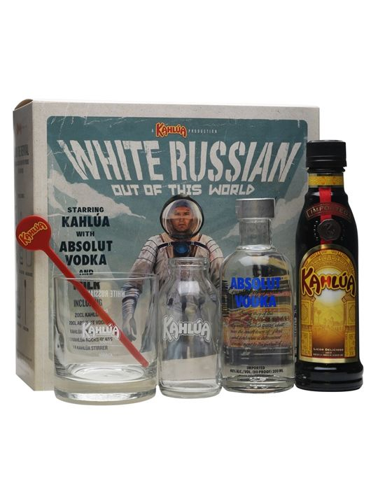 15 February: White Russian cocktail gift set from The Whisky Exchange. Find out why