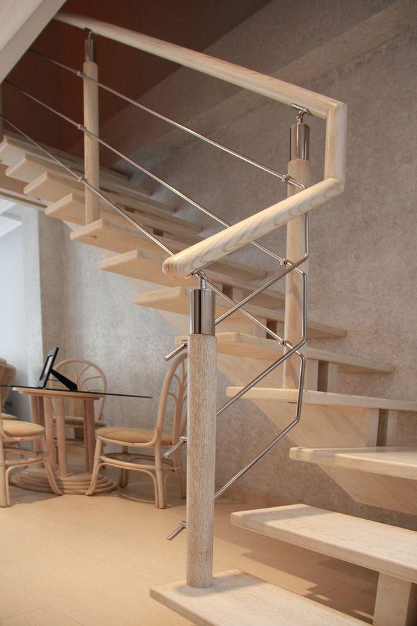 Escalera con pasos tipo alero 27 escaleras Pinterest Escalera