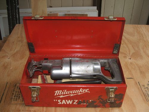 Early Model Milwaukee Sawzall Cordless Circular Saw Milwaukee Tools Milwaukee Tool Box