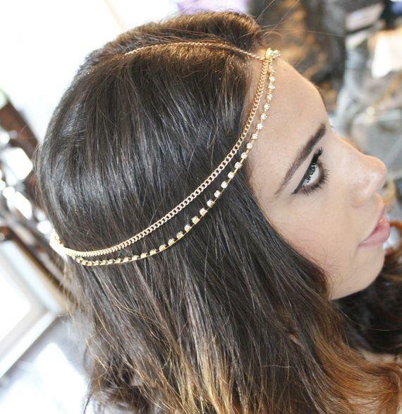 Best 25 Head Chains Ideas On Pinterest Diy Rhinestone